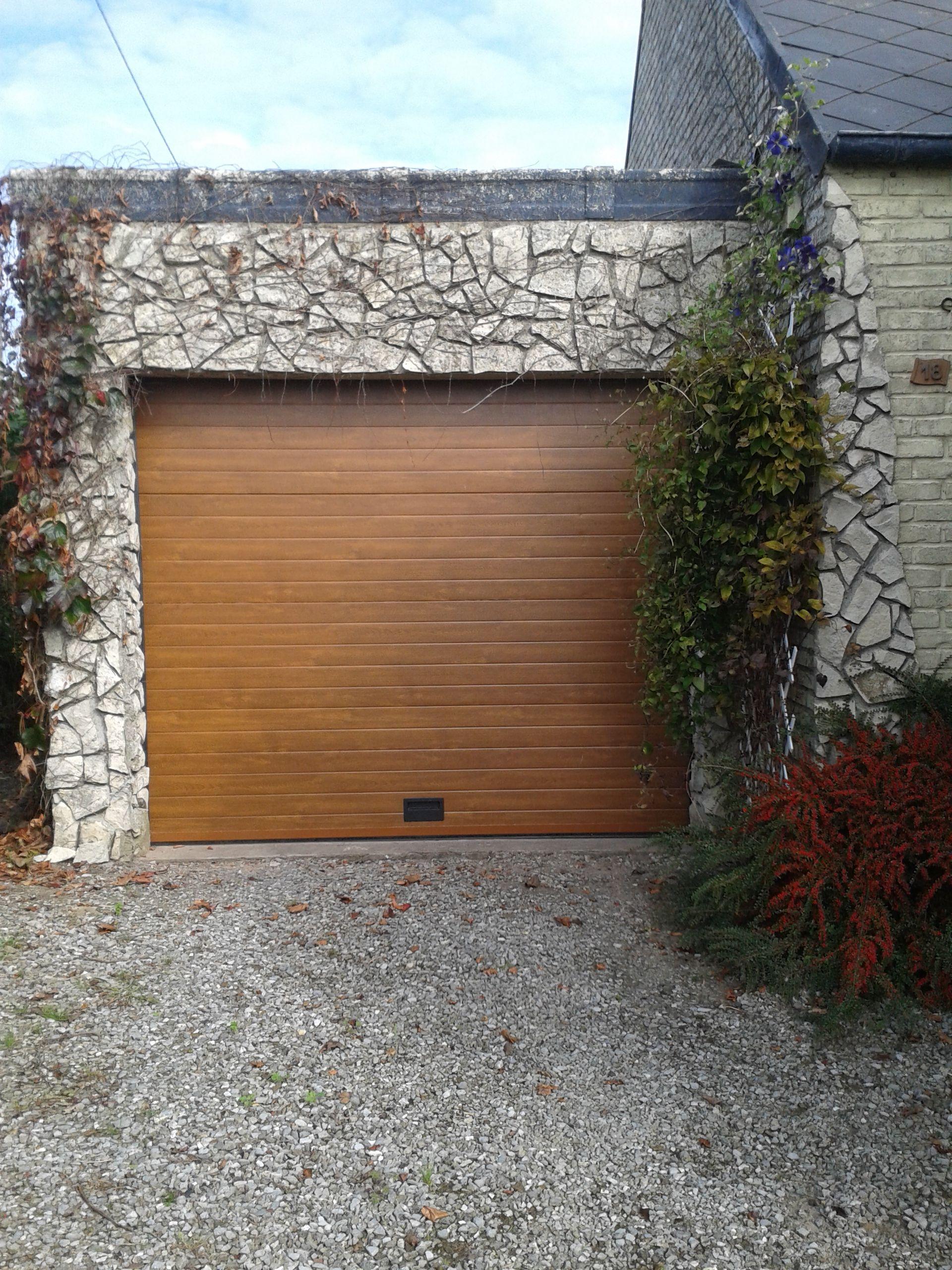Porte de garage sectionnelle sur mesure en aluminium nao porte de garage garage doors - Porte sectionnelle aluminium ...