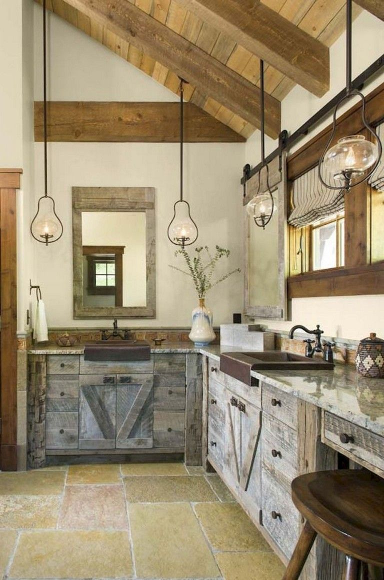 25 Wanderful Farmhouse Barn Wood Kitchen Ideas Page 14 Of 27 Farmhouse Style Kitchen Cabinets Rustic Kitchen Rustic Cabin Kitchens