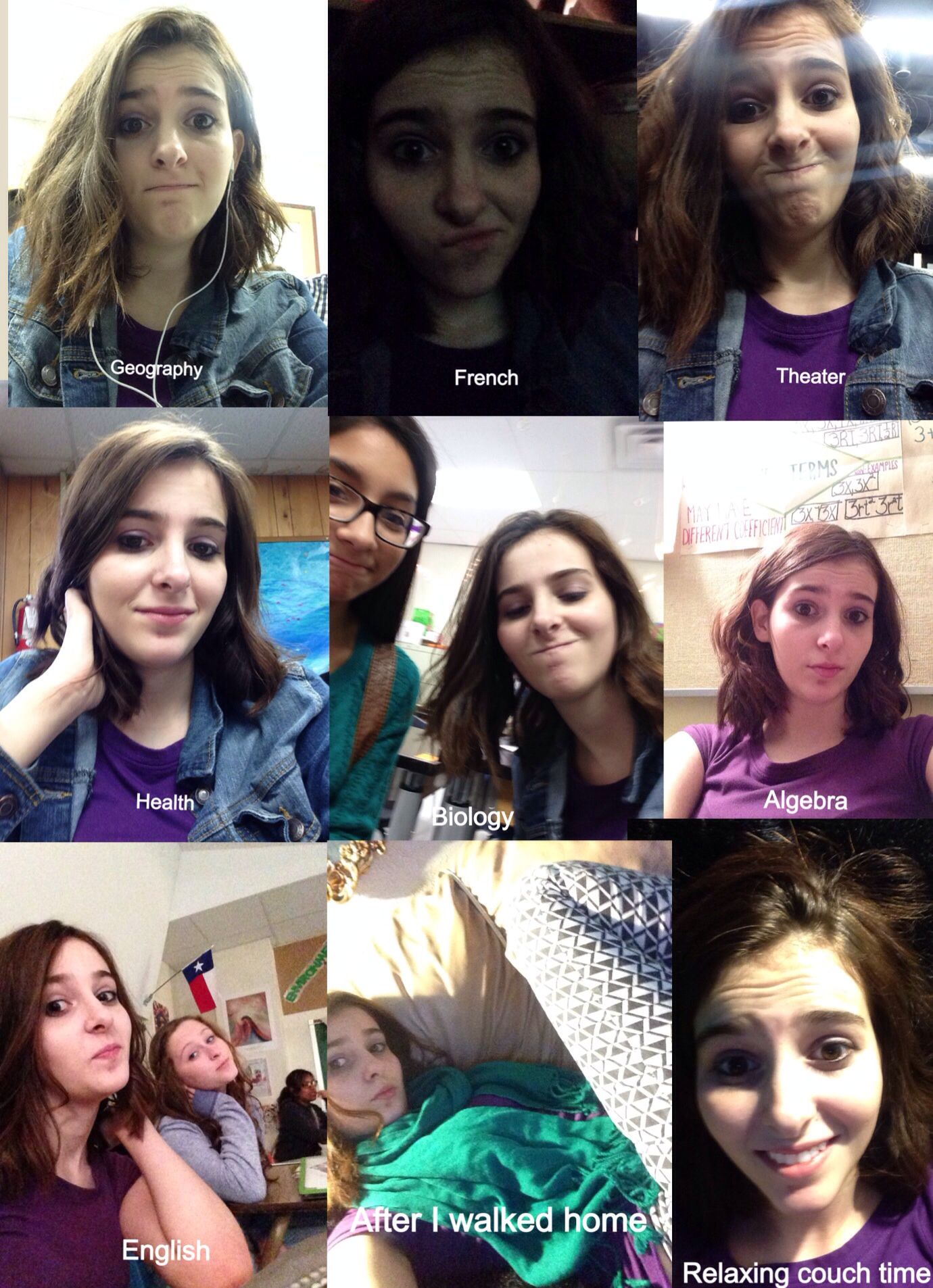A day in the life of Alli (there's a lot more this is just when I had a sec to take a pic)