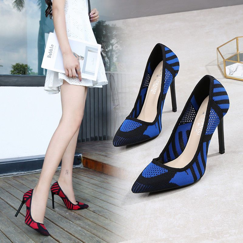 545b3f972e 24.69 | Red Breathable Stiletto Summer Pumps Drag Queen Men's Heels  Crossdresser Shoes ❤ #