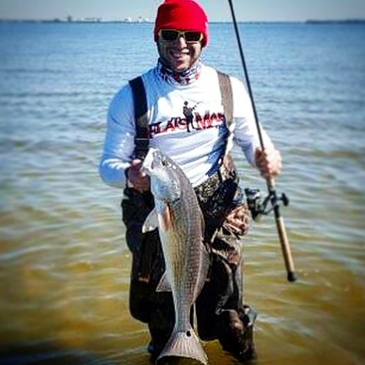 """Another winter red for @cast_blast_fl on our 2"""" CrusteaZ - great little crab imitator! #zmanfishing #elaztech #10xtough #crusteaz #crab #redfish #reddrum #flatsfishing #wadefishing #matchthehatch by zmanfishingproducts"""