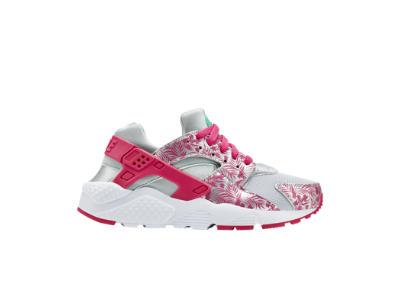 nike huarache run print girls' shoes