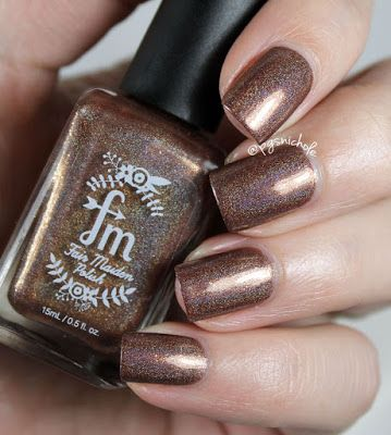 Bedlam Beauty: Octopus Party Nail Lacquer + Fair Maiden