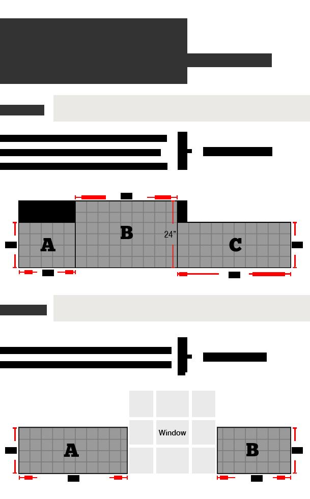 How To Calculate Backsplash Area