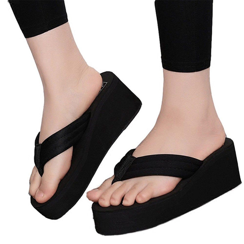 High heel flip flops, Girls sandals