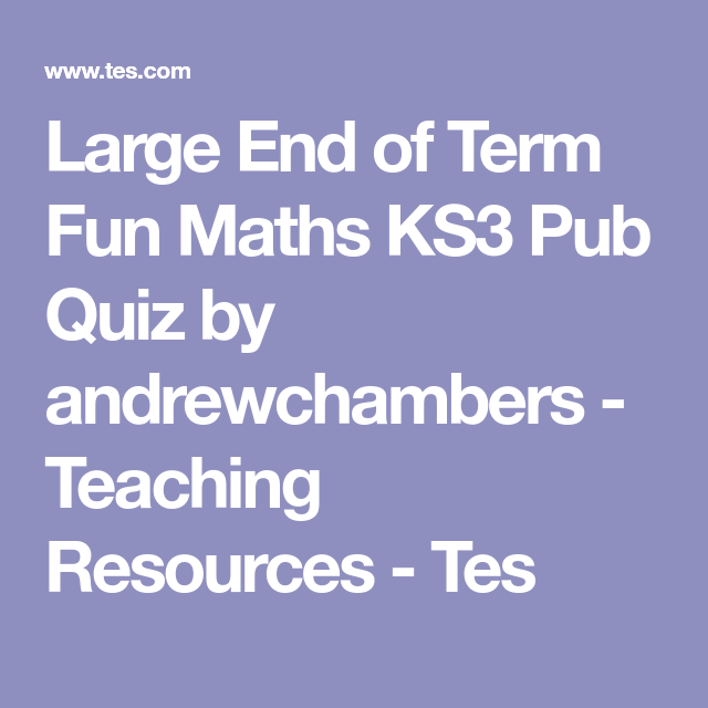 Maths homework help ks3
