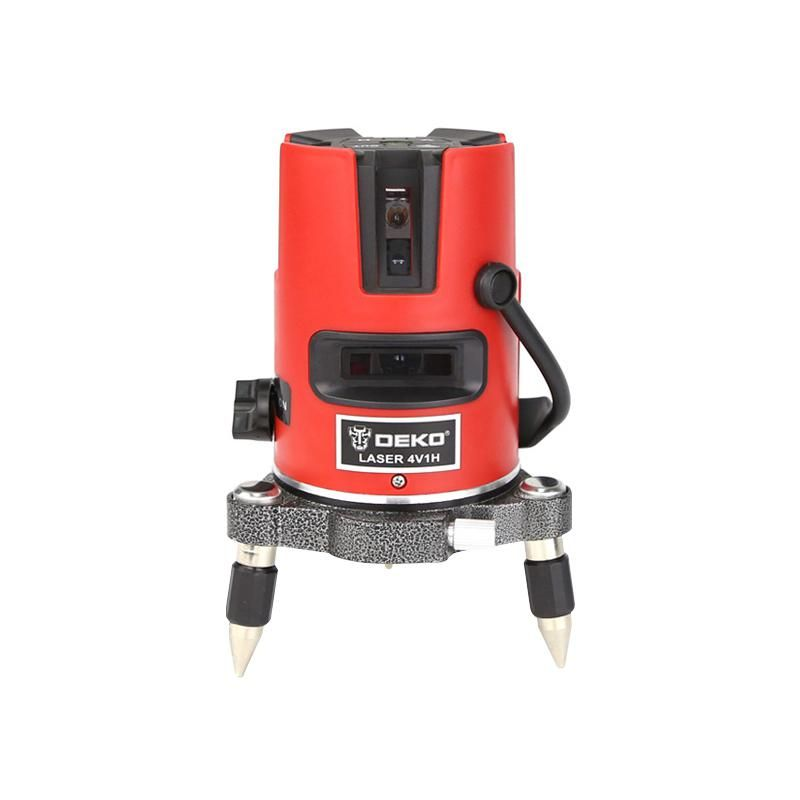 Dekopro Laser Level 5 Lines Professional Laser Slash Function Vertical Horizontal Eu Self Leveling Cross Lazer Level Tools Ye Laser Levels Vertical Horizontal