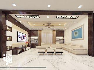 architectural visualization residential interior design also latest modern pop ceiling for hall false designs rh pinterest