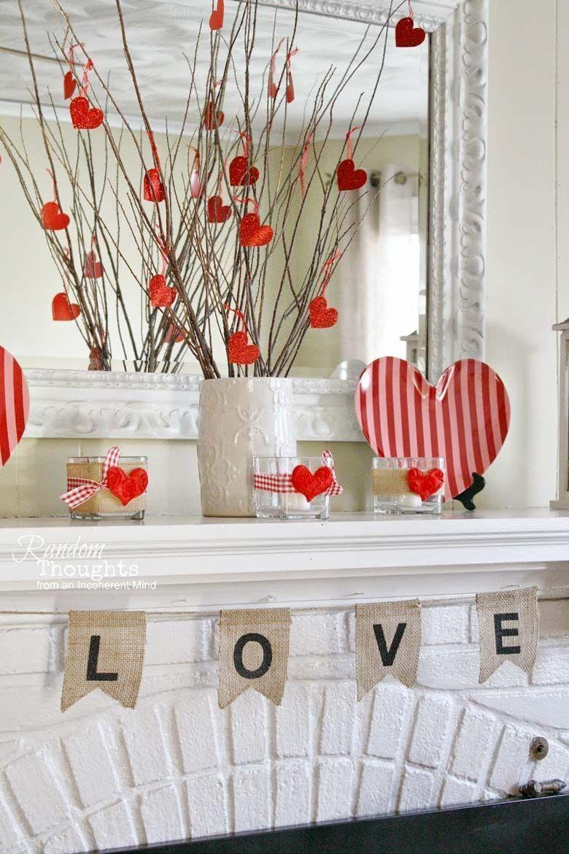 Photo of 12 einfache hausgemachte Valentinstag-Dekorationen – Craft-Mart  12 einfache hau…