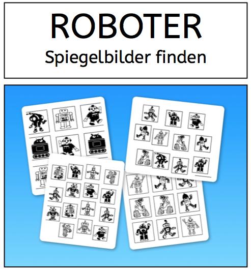 Roboter, Wahrnehmung, Legasthenie, Dyskalkulie, Arbeitsblatt, Eltern ...