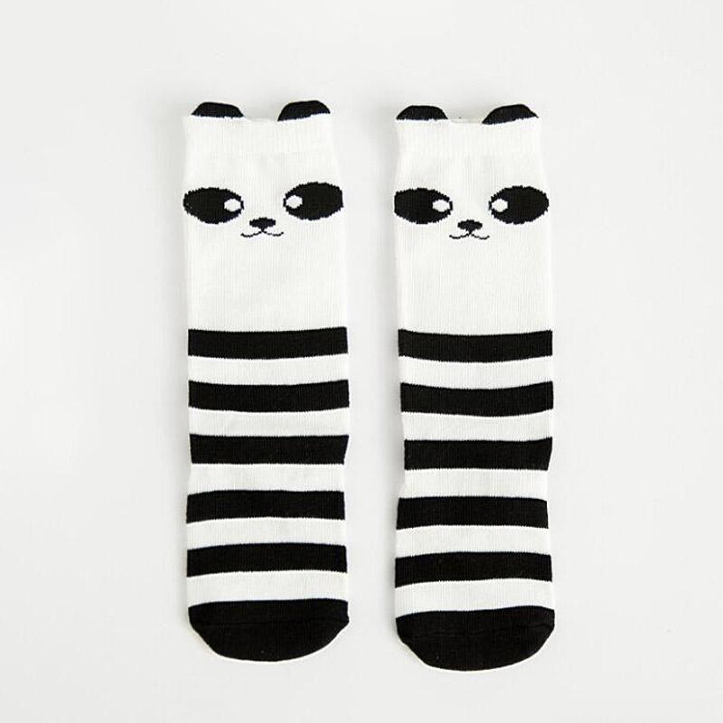 b4fcbab61 1 Pair Unisex Lovely Cute Cartoon Fox Kids baby Socks Knee Girl Boy Baby  Toddler Socks animal infant Soft Cotton long socks 0-3Y