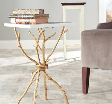 Accent table! Awesome Home Stuff Pinterest Art furniture