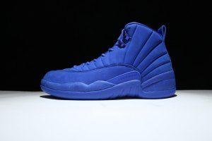 c05c188a0787e1 Mens Nike Air Jordan 12 Retro Bule 130690 033 Boy Basketball Shoes ...