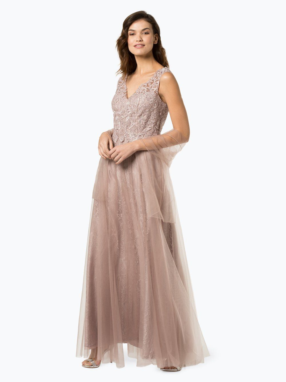 damen abendkleid mit stola | luxuar fashion, abendkleid und