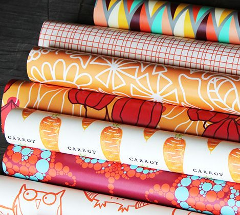Individual designers and crafters use Spoonflower to print custom wallpaper from their own designs.