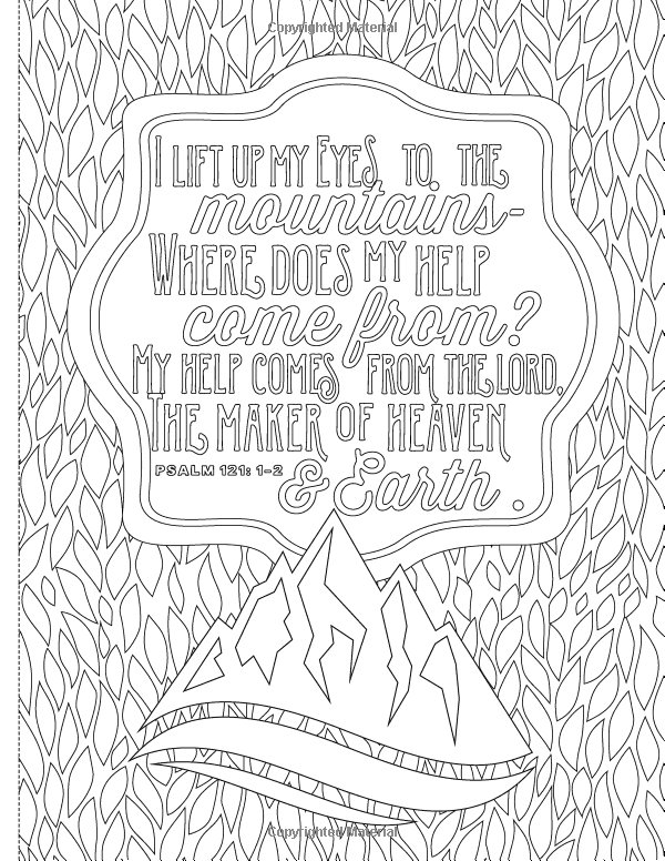 Inspiring Words Coloring Book 30 Verses From The Bible You Can Color Zondervan 9780310757 Words Coloring Book Quote Coloring Pages Bible Verse Coloring Page