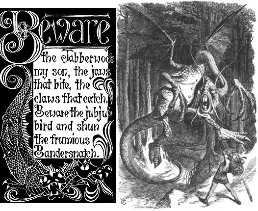 Jabberwocky (Lewis Carroll)   English language, English and Literature