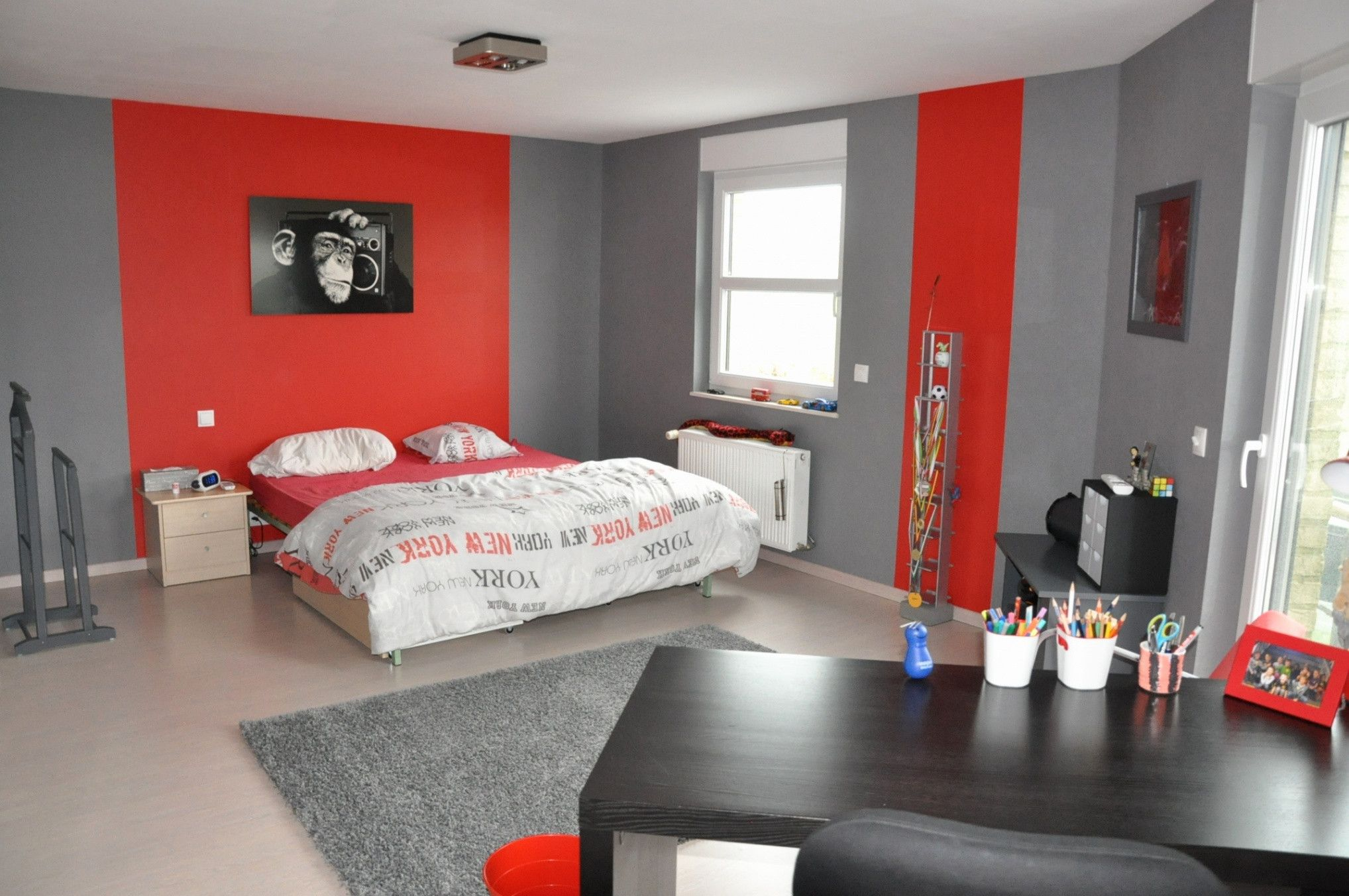 Lovely Chambre D Ado Moderne  Home, Bedroom interior, Interior