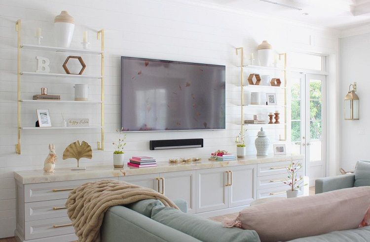 30 Best Entertainment Center Design Ideas To Perfectly Re Decor Your Entertainment Room Living Room Entertainment Center Farmhouse Entertainment Center Living Room Entertainment
