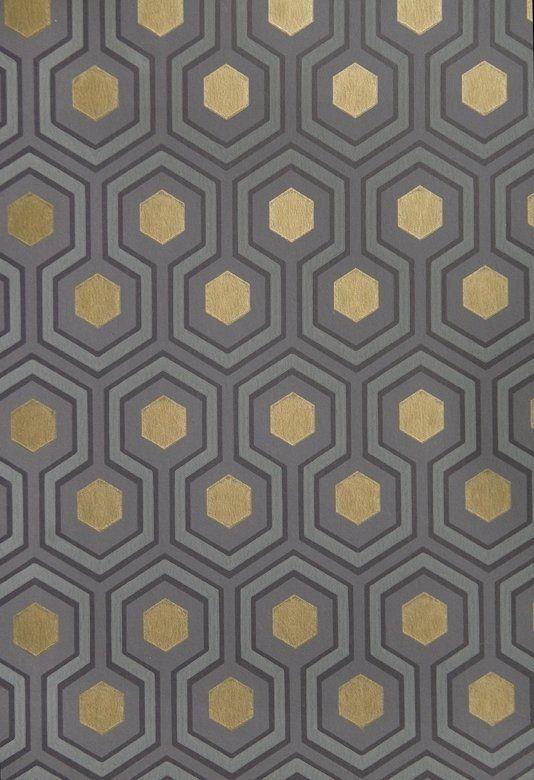 Hicks 39 Hexagon Wallpaper Small Geometric Design Design