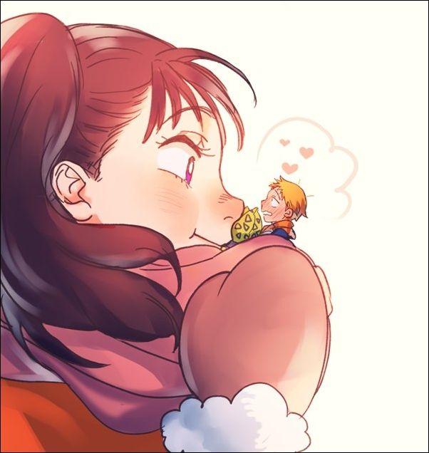 Nanatsu No Taizai - King And Diane