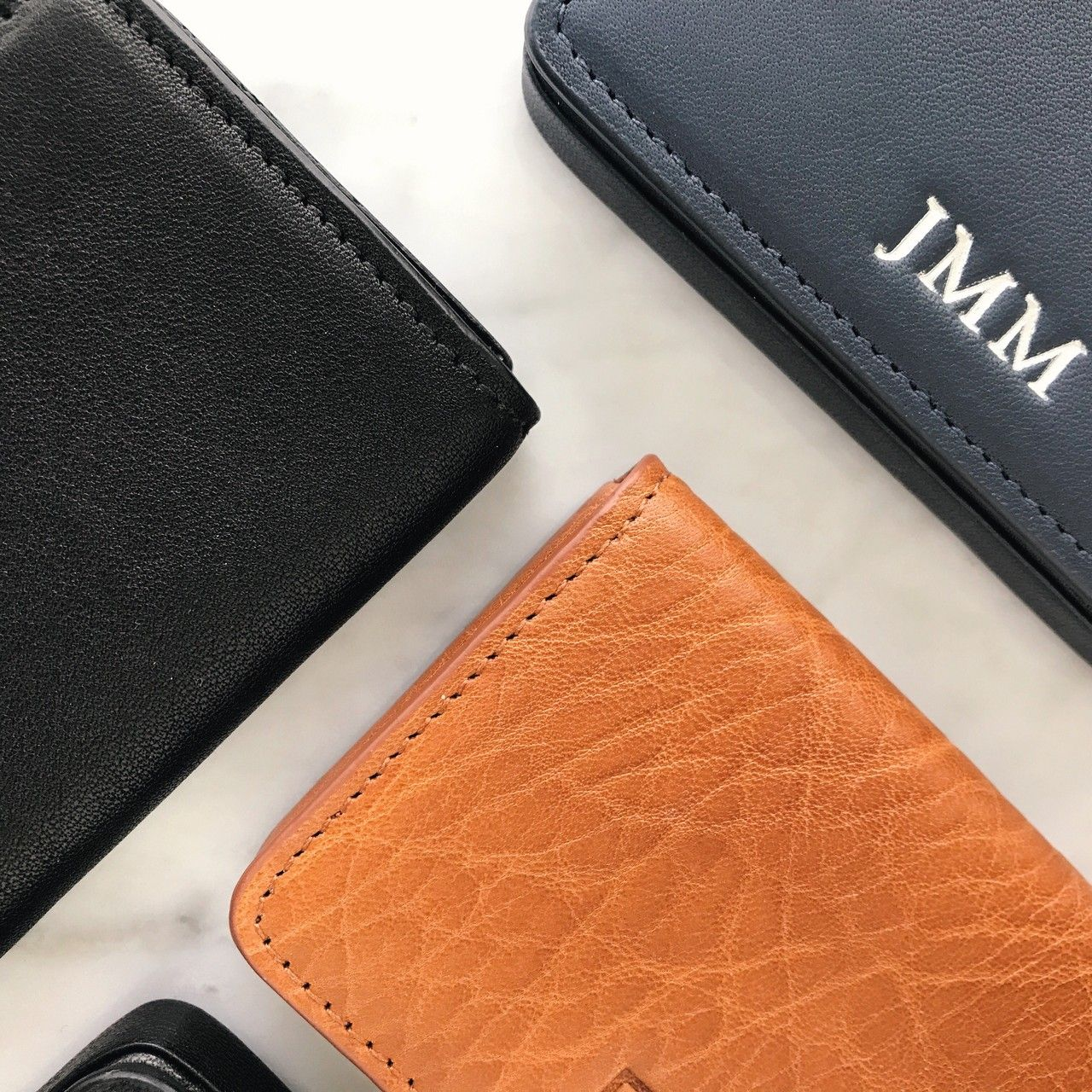 Personalized leather business card cases say hello simple personalized leather business card cases say hello simple stylish and secure these magicingreecefo Gallery