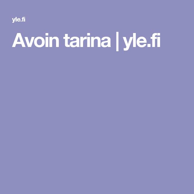 Avoin tarina | yle.fi