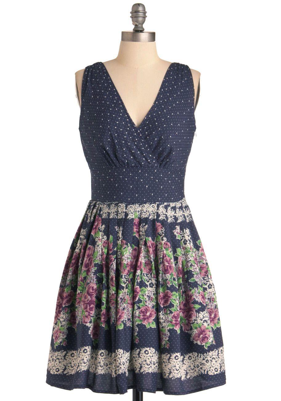 """""""garden cafe"""" dress"""