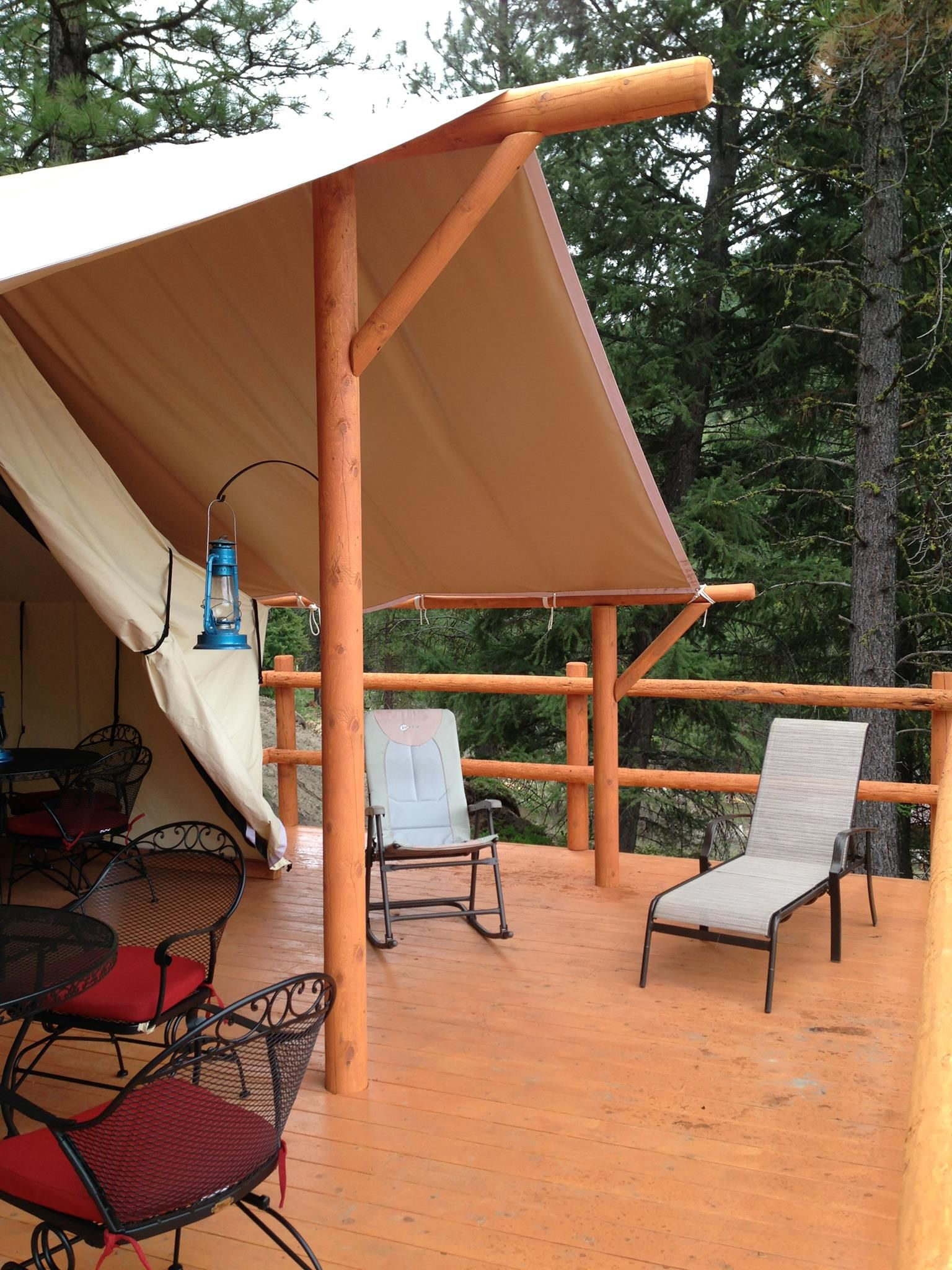 Cabin Tents - Canvas Platform Tents