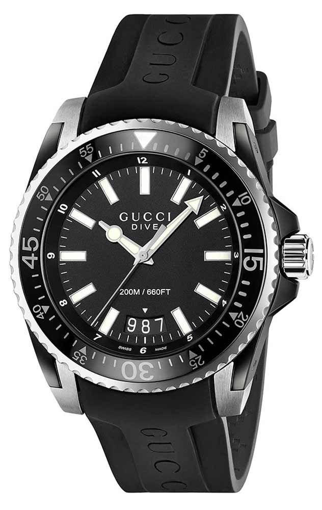 5d863cf9ff Reloj Gucci hombre YA136204 Colección Dive   relojes   Pinterest ...