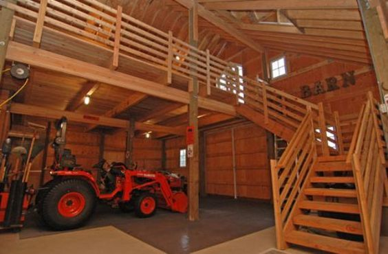 How To Build A Pole Barn With A Loft Barn Loft Building A Pole