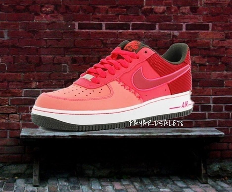 MEN'S SIZE 14 NIKE SNEAKERS AF 1 NIKE AIR GODZILLA FUSION RED ...