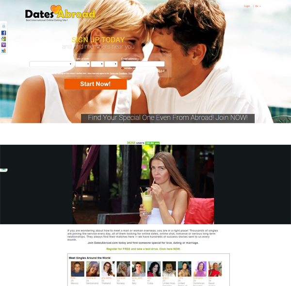 free online overseas dating
