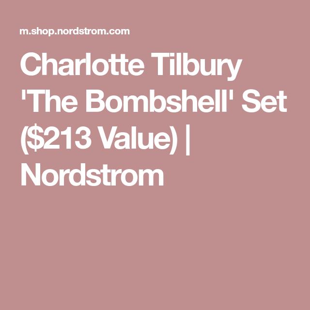 Charlotte Tilbury 'The Bombshell' Set ($213 Value) | Nordstrom