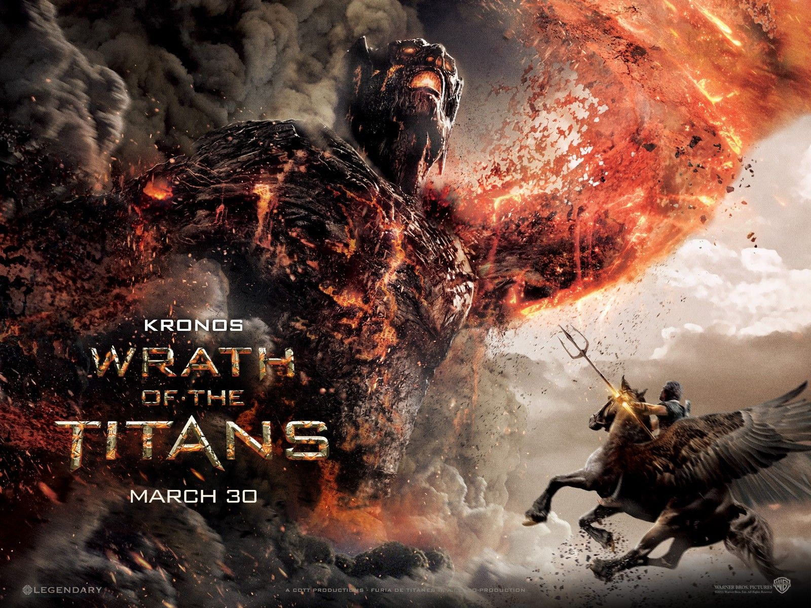 Wrath Of The Titans Best Scene Furia De Titas Filmes De Terror