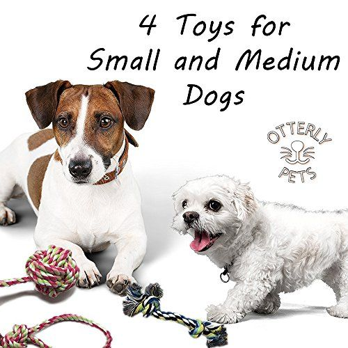 Otterly Pets Puppy Dog Pet Rope Toys For Small To Medium Dogs Set