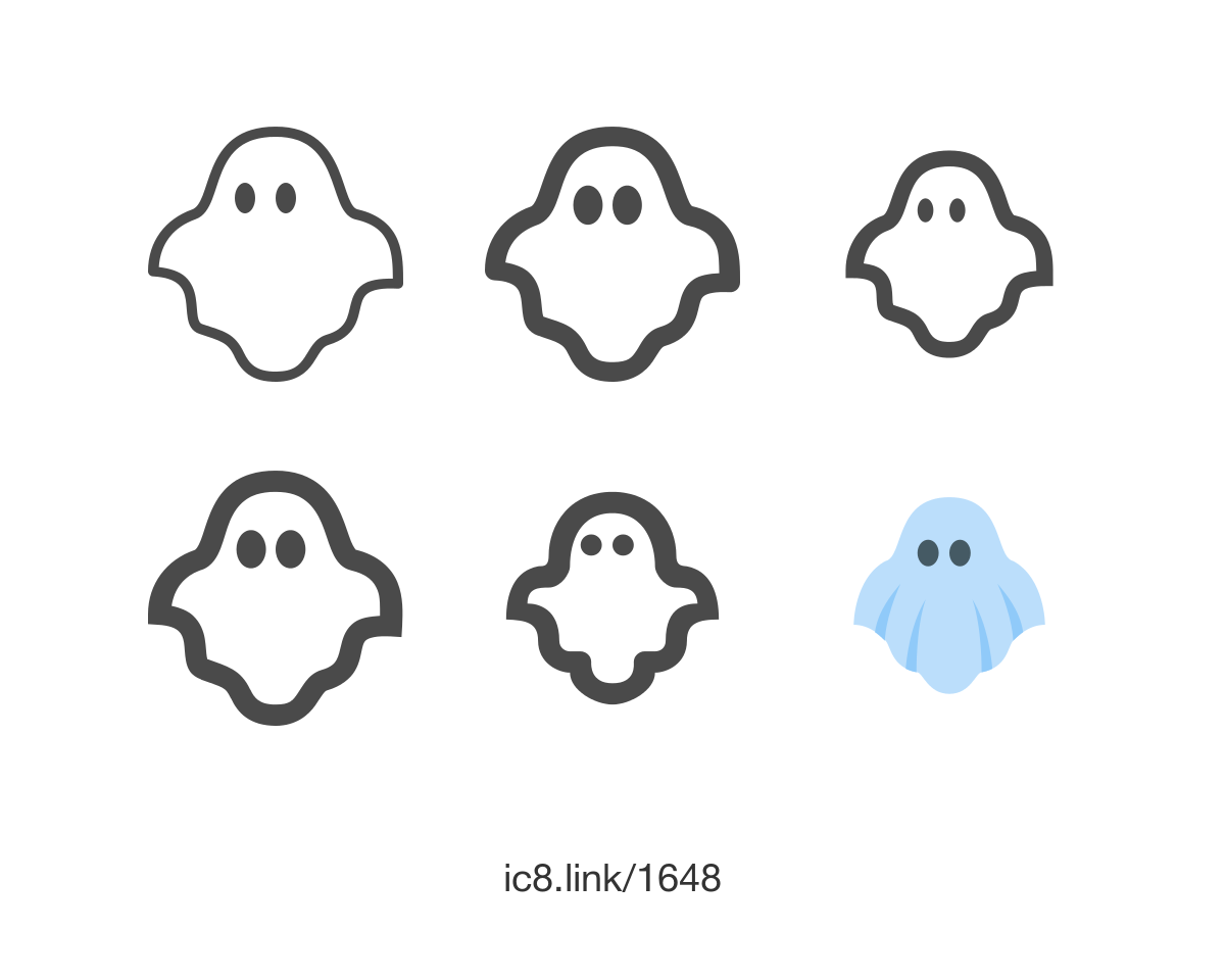 Free Flat Ghost Icon Of Doodle Available For Download In Png Svg And As A Font Halloween Icons Graphicdesign Illustration Ghost Icon Icon Design
