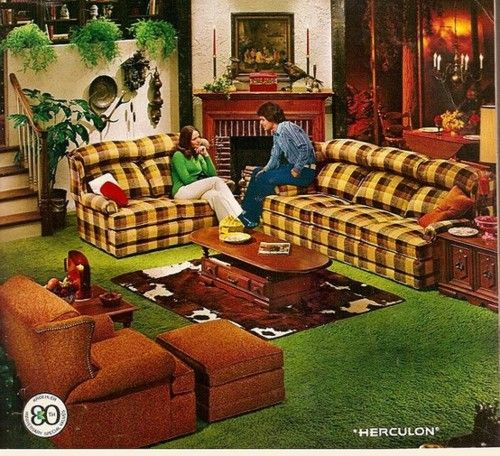 This Is What 1970 S Country Furniture Looked Like The Couch Was