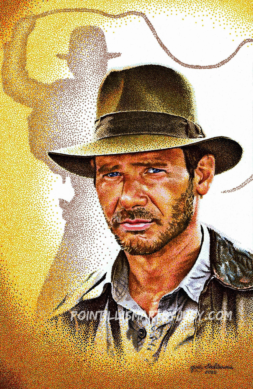 Indiana Jones Art Print In 2020 Indiana Jones Art Prints