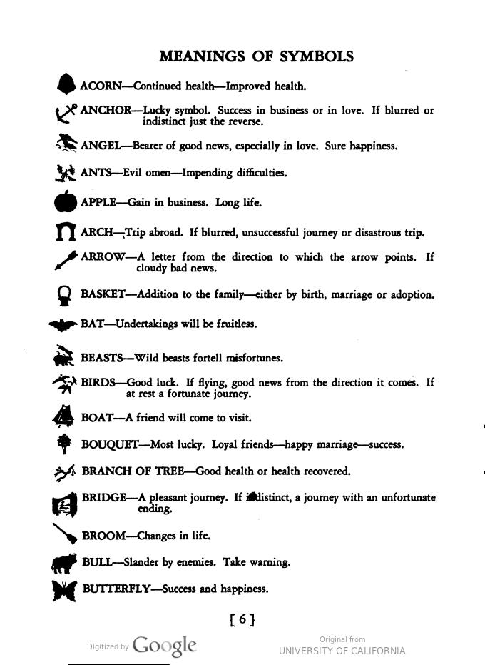 Reference Guide To Tea Leaf Symbols Tarot Pinterest Tea