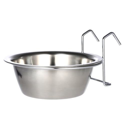 (6.0$)  Watch here  - Practical Stainless Steel Hanging Pet Dog Cat Cage Bowl Kennel Coop Cup Bowl for Dog Bird Rabbit