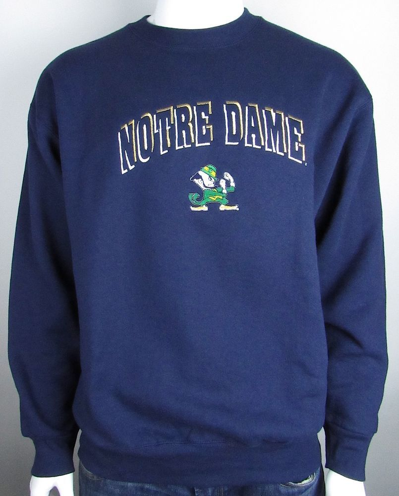 9ad0b6890d19 Notre Dame Fighting Irish Football NCAA Pullover University Sweatshirt Blue  XL #fashion #clothing #shoes #accessories #mensclothing #activewear (ebay  link)