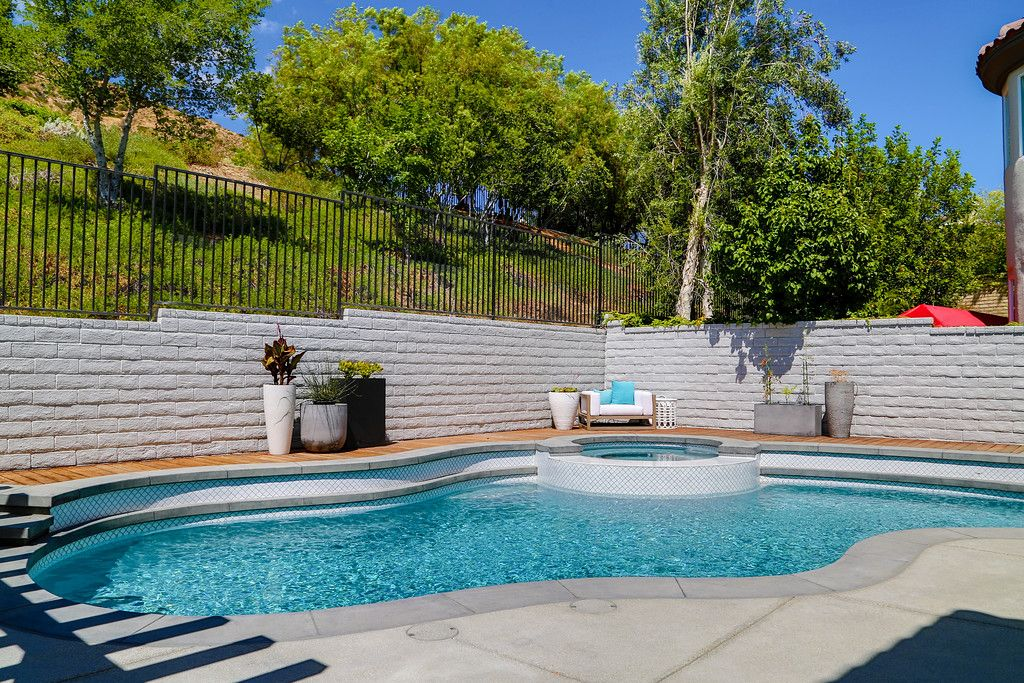 Clearflo Pools Pool Spa Renovation Small Business So Cal Calabasas Thousand Oaks Santa Rosa Swimming Pool Pavers Swimming Pools Pool Backyard Oasis