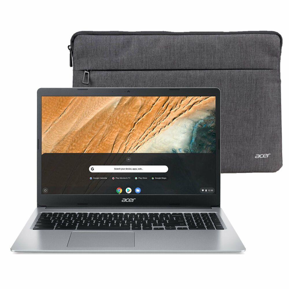 New Acer Chromebook 15 6 Hd Intel N4000 4gb Ram 32gb Emmc Protective Sleeve 193199632029 Ebay In 2020 Chromebook Acer 32gb