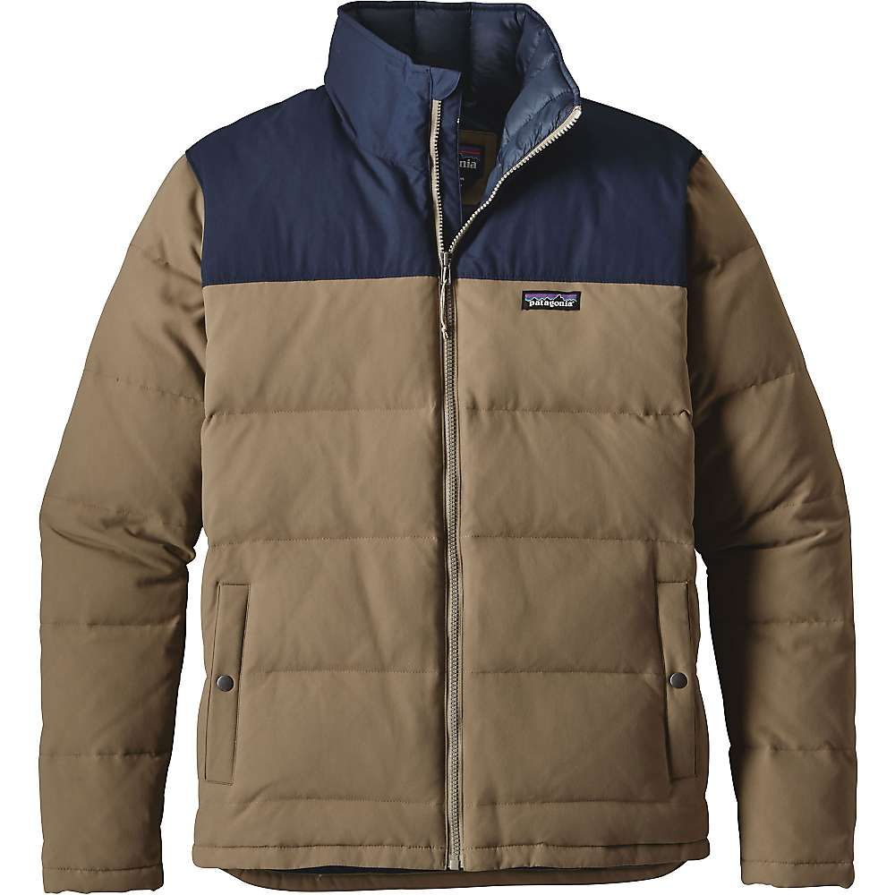 Patagonia Men's Bivy Down Jacket - Large - Ash Tan