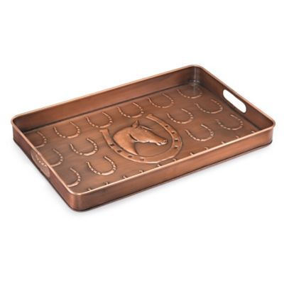 Good Directions Horseshoe Boot Tray In Copper Mudroom
