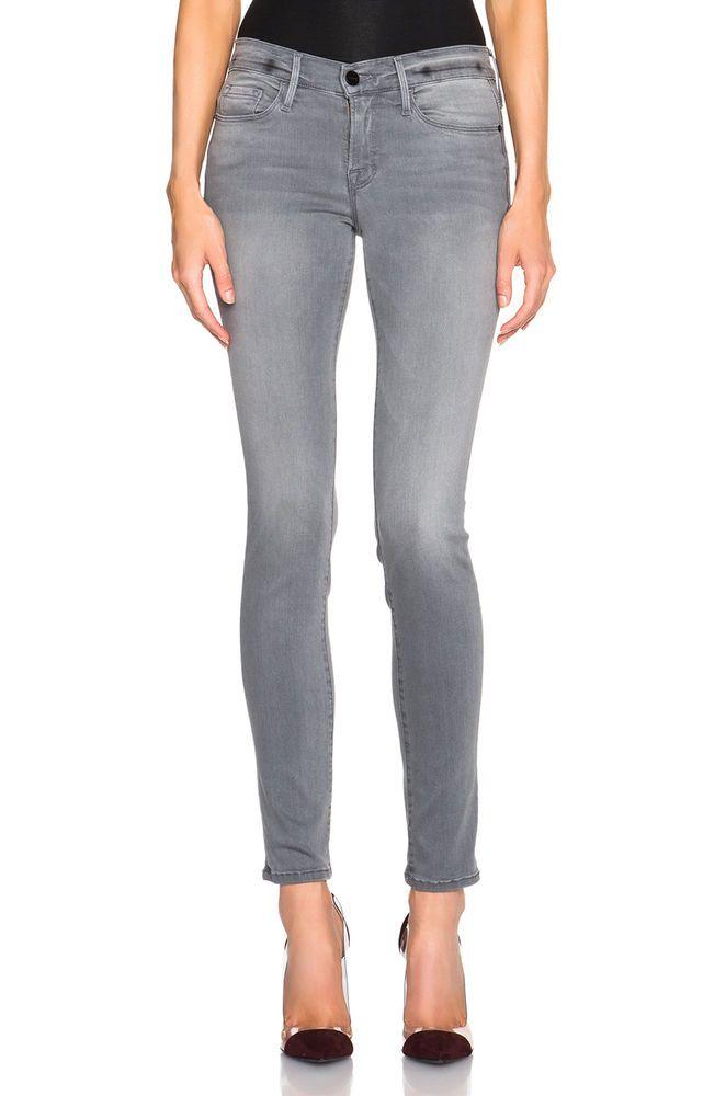 FRAME Denim New Women\'s Le Skinny De Jeanne Sexy Jeans Pants Russo ...