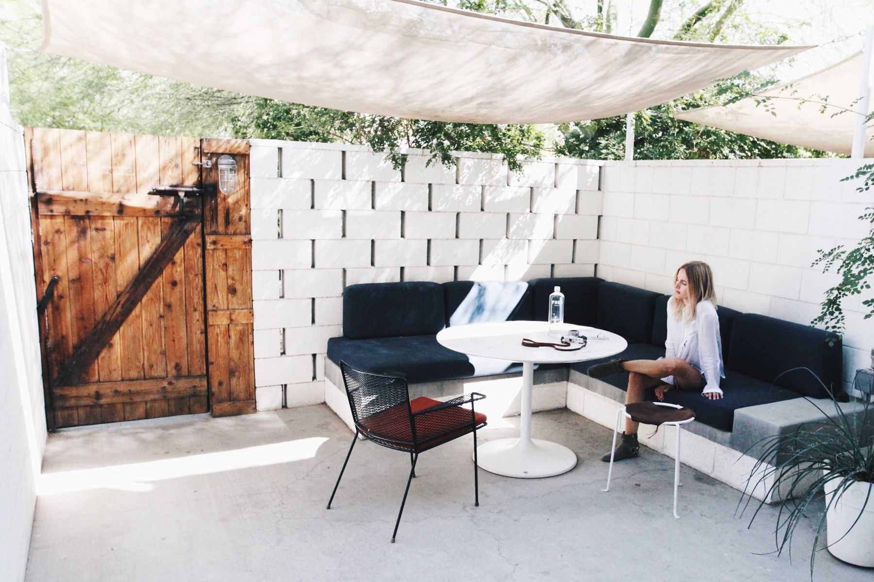 Patio Ace Hotel Palm Springs Via Mija Mija Pinterest