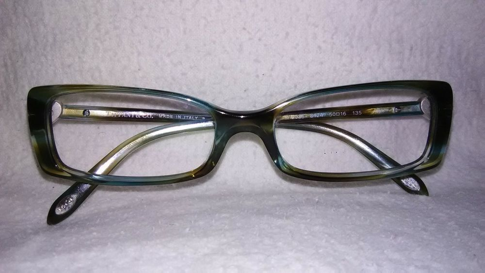 4e283f99a75 New Authentic Tiffany   Co TF 2035 8124 Ocean Turquoise Eyeglasses Italy   fashion  clothing  shoes  accessories  womensaccessories ...