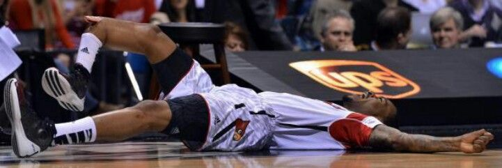 Crazy Louisville vs duke Kevin ware breaks leg | Funny stuff
